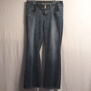 American Eagle stretch bootcut jean size 6 short